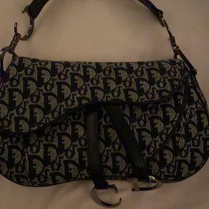 Authentic Christian Dior hand bag/shoulder bag